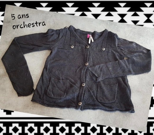 Gilet 5 ans orchestra