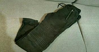 Jeans noir Taille 11 ans