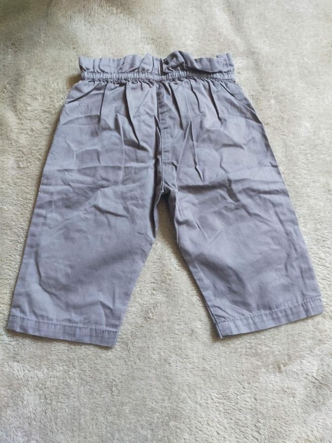 Pantalon/jean gris 6 mois DPAM