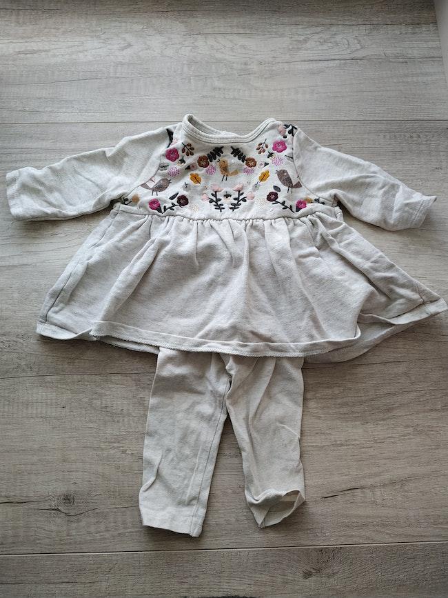 Ensemble robe legging 6 mois