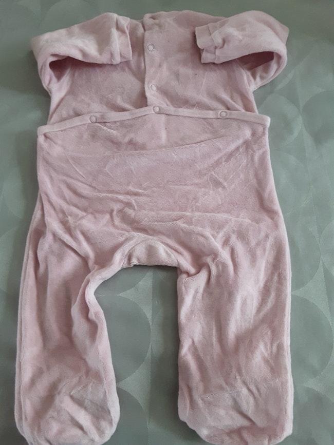 Pyjama rose 9 mois
