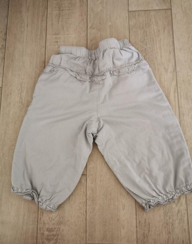 Pantalon gris léger kitchoun 9 mois