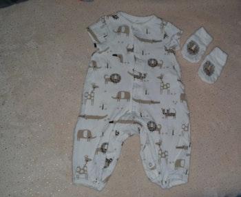 pyjamas  avec mouffles