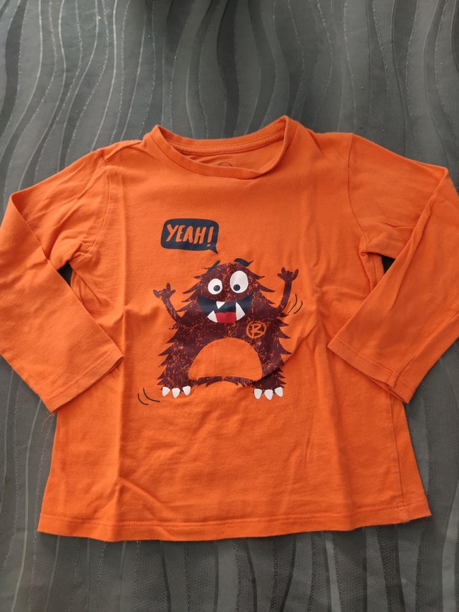 Maillot monstre longues manches 4 ans
