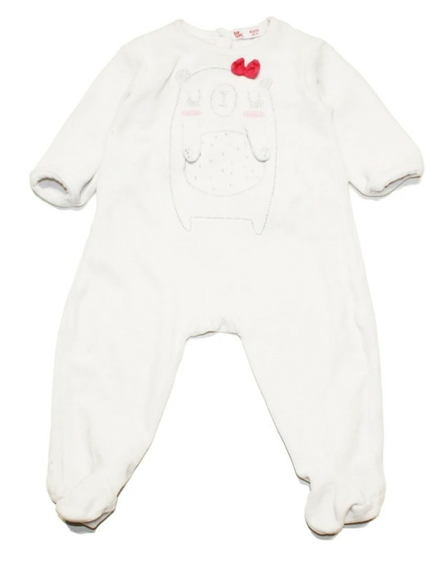 Pyjama blanc 6 mois