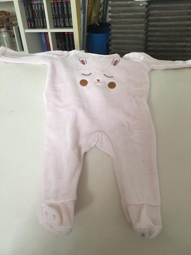 Pyjama de taille un mois