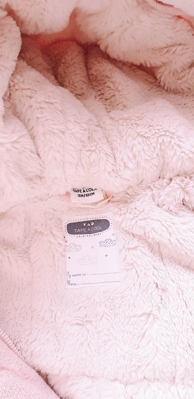 ❄ Manteau fourré à capuche en laine - Tape à l'œil - 18 mois ❄