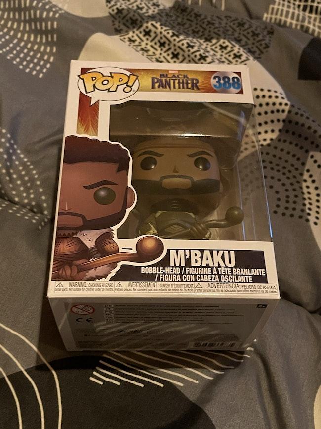 Figurine pop M'Baku Black Panther
