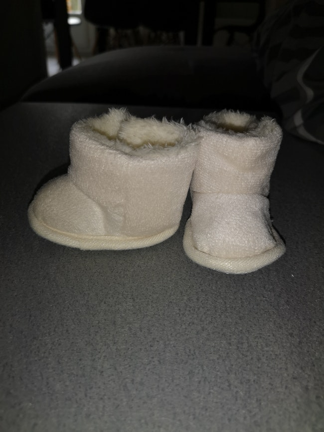 Bottine/chaussons bébé fourré