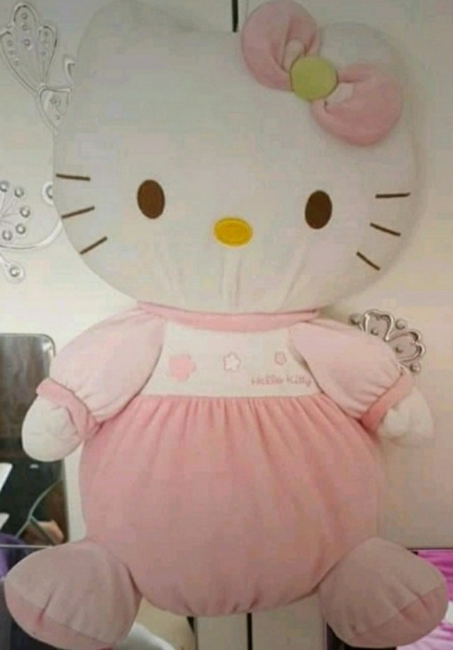 Peluche hello kitty range pyjama très bon état