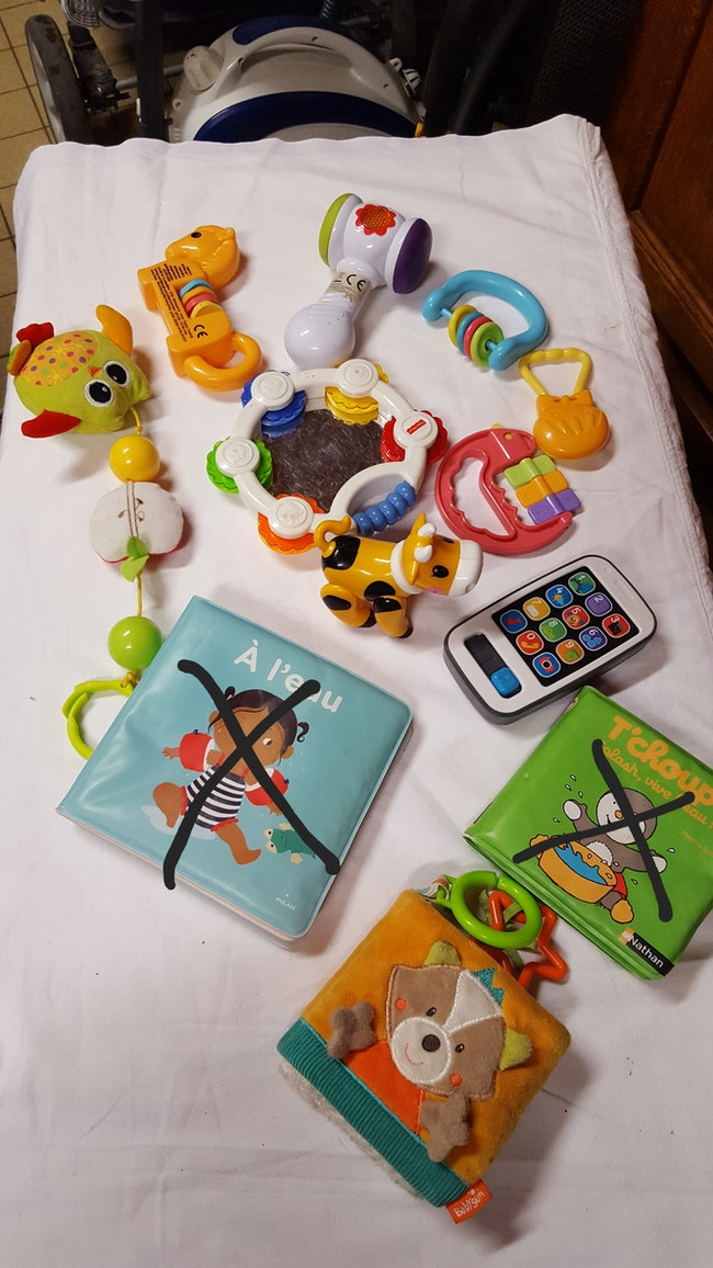 Lot de jouets 1er age
