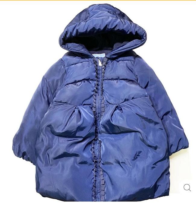 Manteau bleu 3 ans