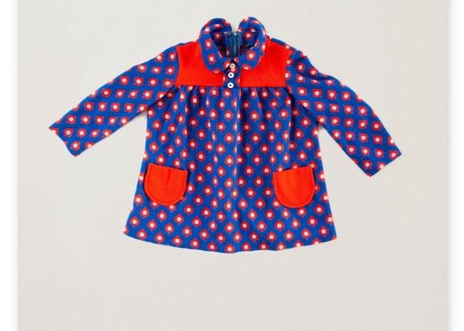 Robe tunique as de pique 60's / 18-24 mois