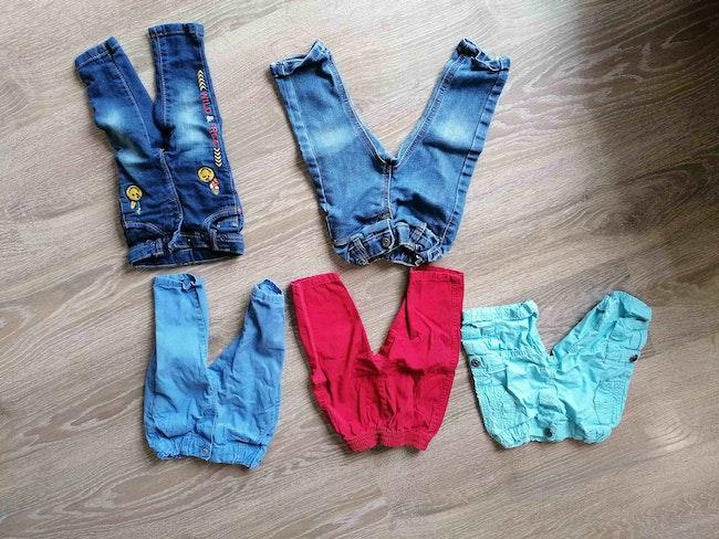 Lot pantalons 6mois peu portés 3e