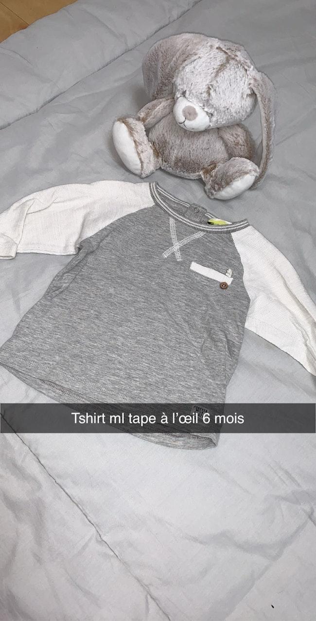 Petit lot de t-shirt ml