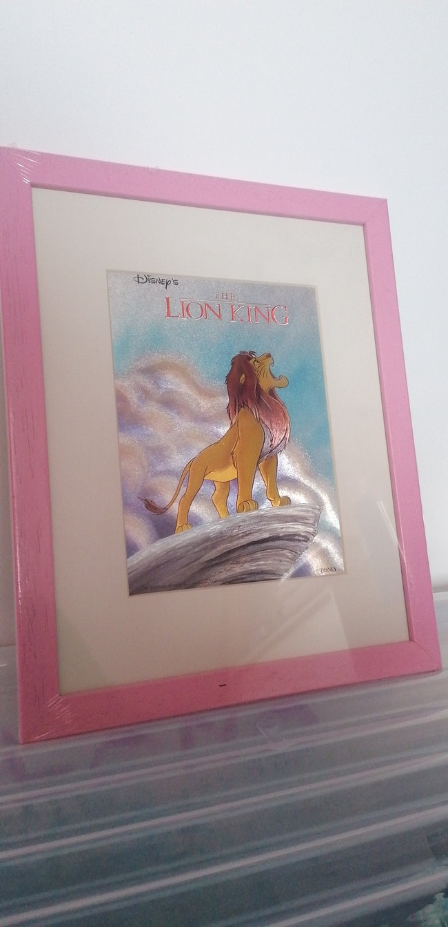 Tableau le roi lion