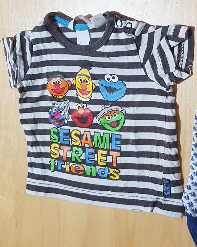T-shirt rue sésame elmo
