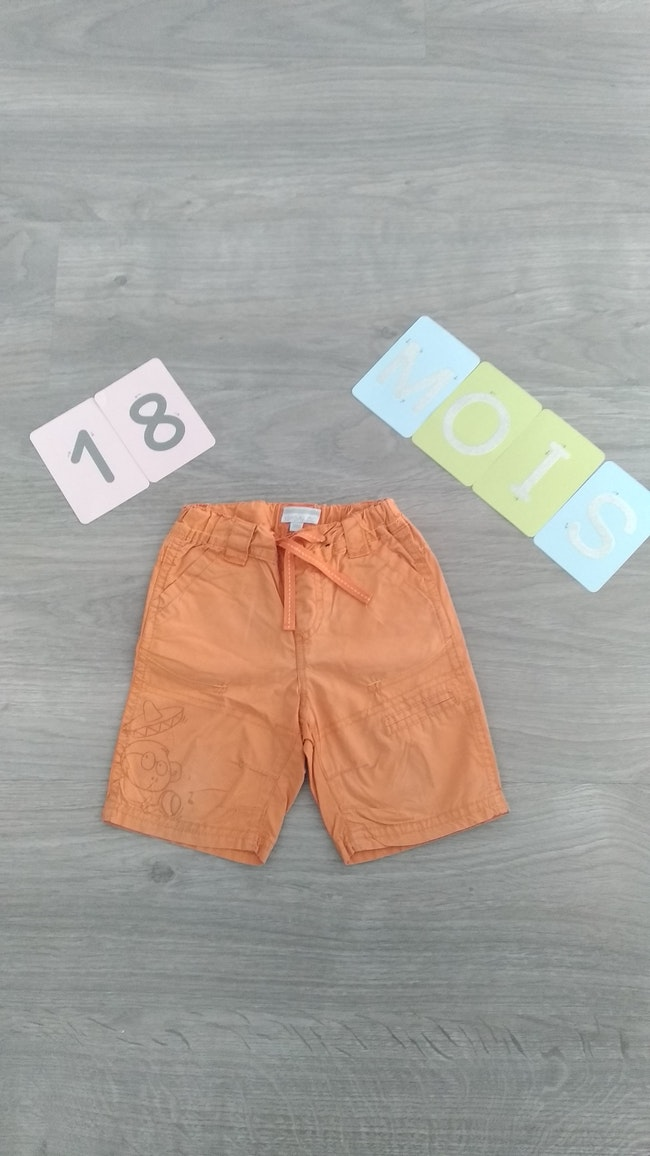 Short orange Kimbaloo