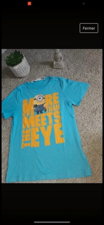 T-shirt 6/8ans