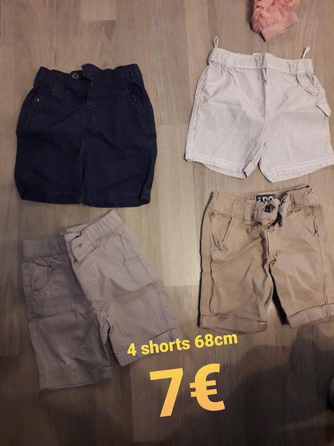 4 shorts 68cm