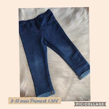 Pantalon 9/12 moi