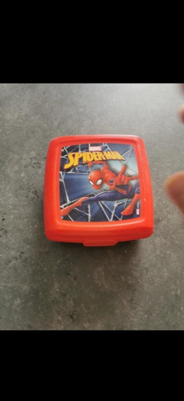 Boîte à goûter Spiderman