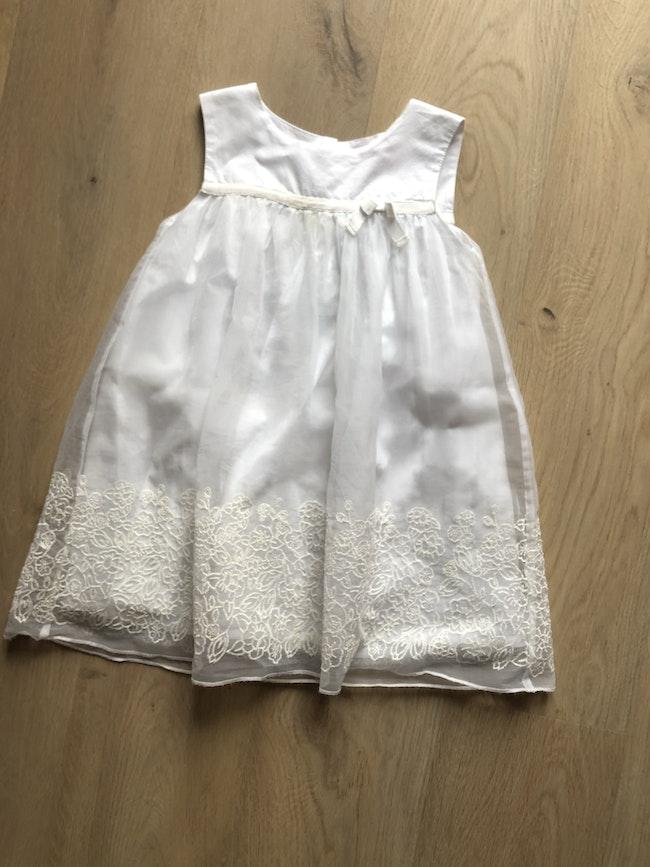 Robe blanche idéal baptême