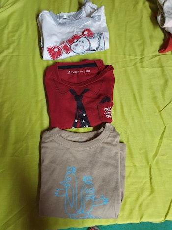 Lot de 3 tee-shirts ML