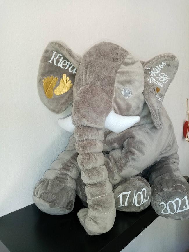 Éléphant personnalisé