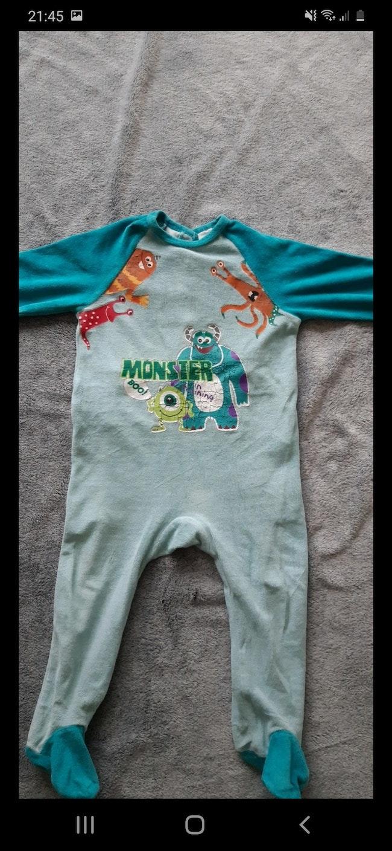 "Pyjama ""monstre&compagnie"", 18 mois"