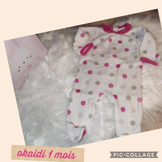 Pyjamas okaidi 1 mois