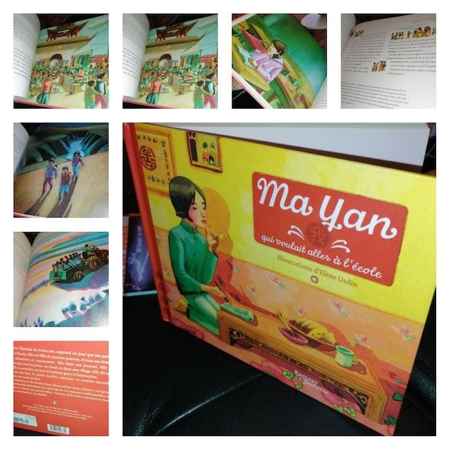Livre Ma Yan qui voulait aller à l'école Neuf Éditions Ramsay jeunesse