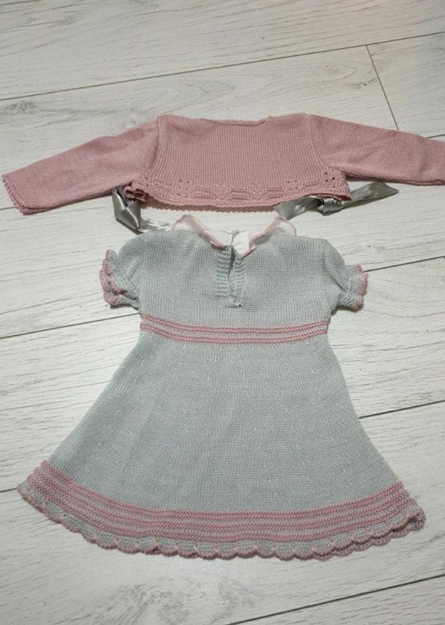 Robe avec gilet#ensemble robe