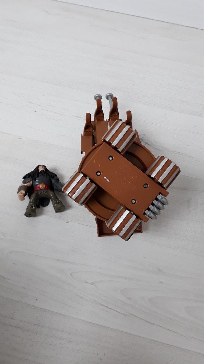 Catapulte et sa figurine