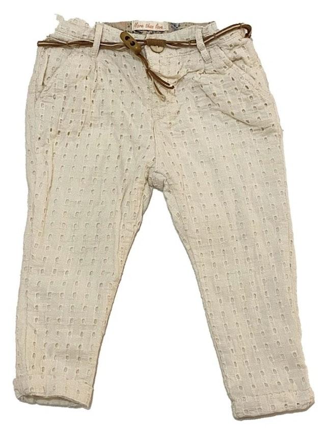 Pantalon blanc 9 mois