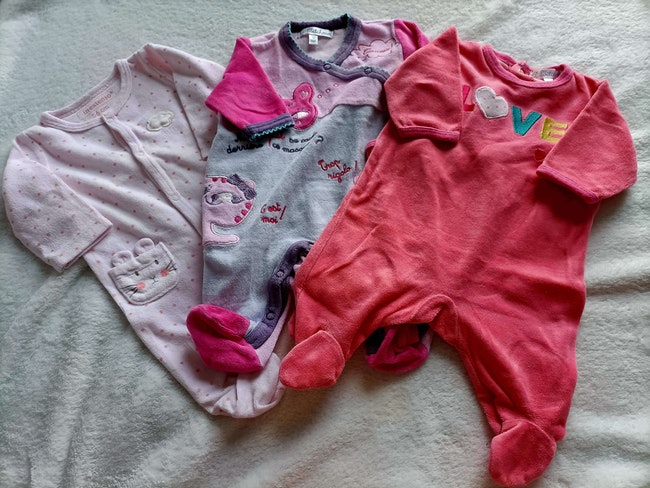 Lot pyjama 1 mois