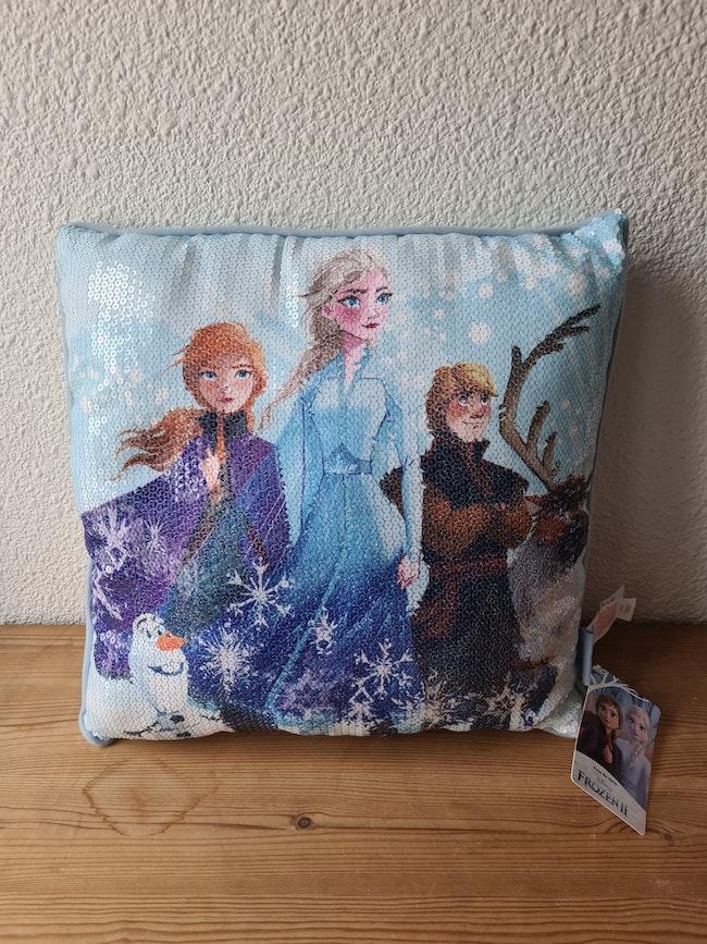 coussin la reine des neiges Disney