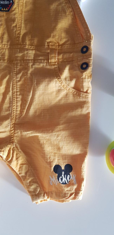 Salopette + polo Mickey 6mois