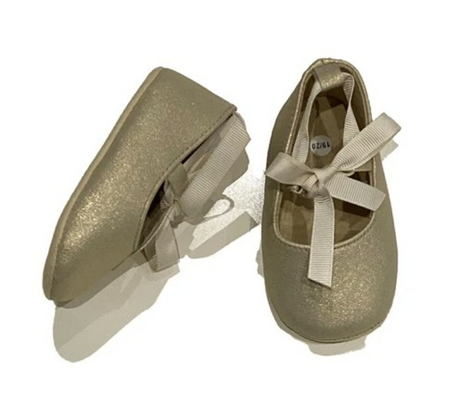 Chaussures doré