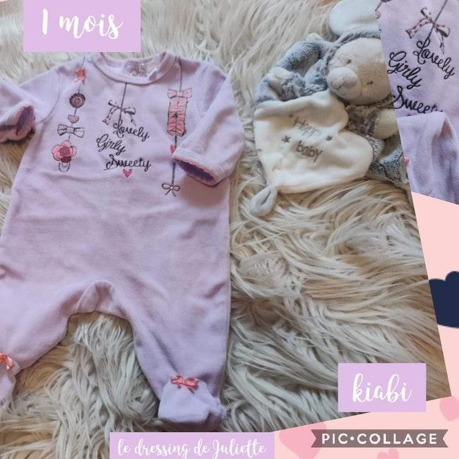 Pyjamas 1 mois