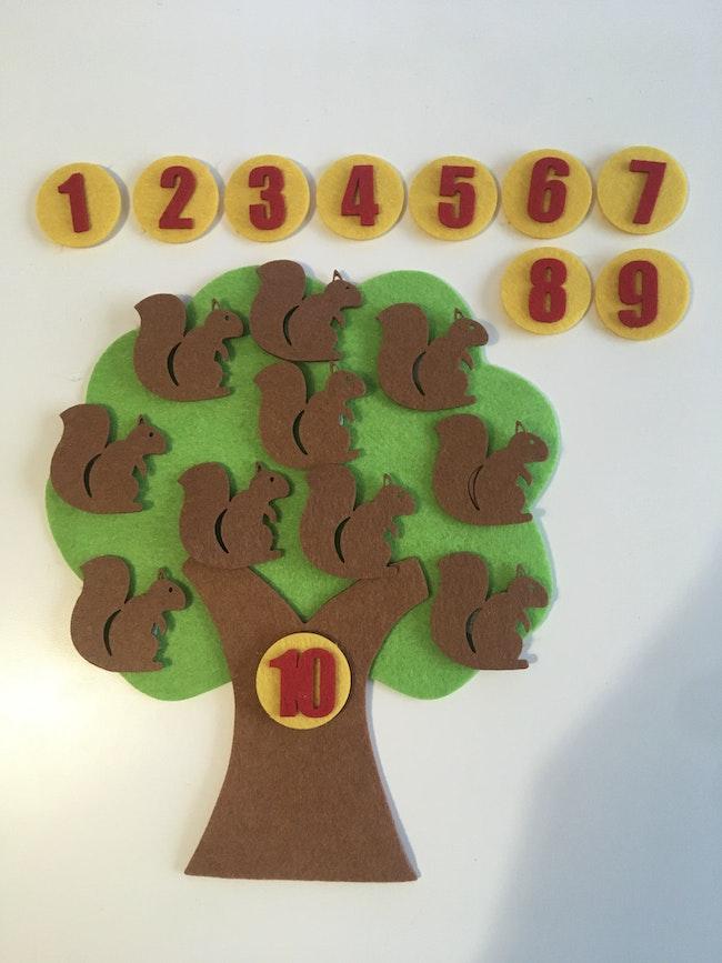 Écureuil Montessori