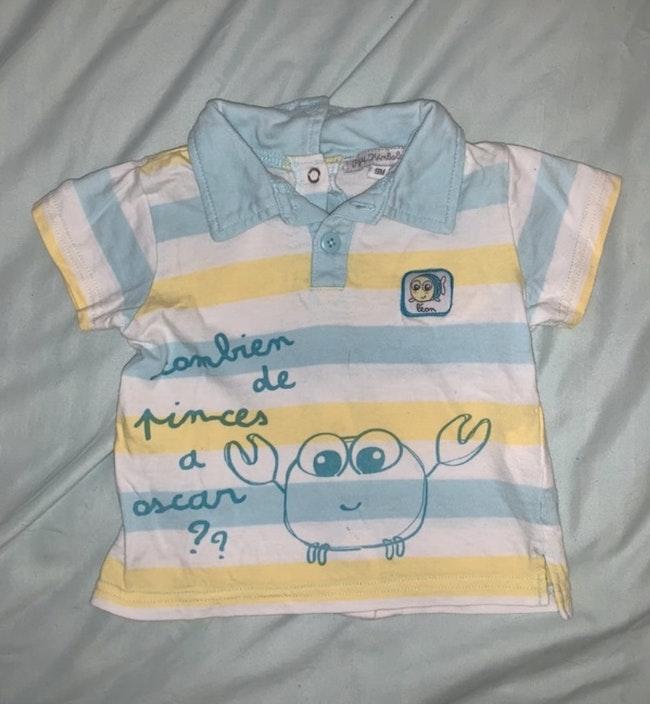 T-shirt  kimbaloo 9 mois
