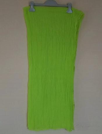 Foulard jaune/vert fluo
