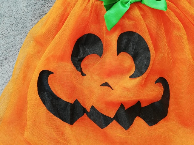 Déguisement robe halloween 110 cm