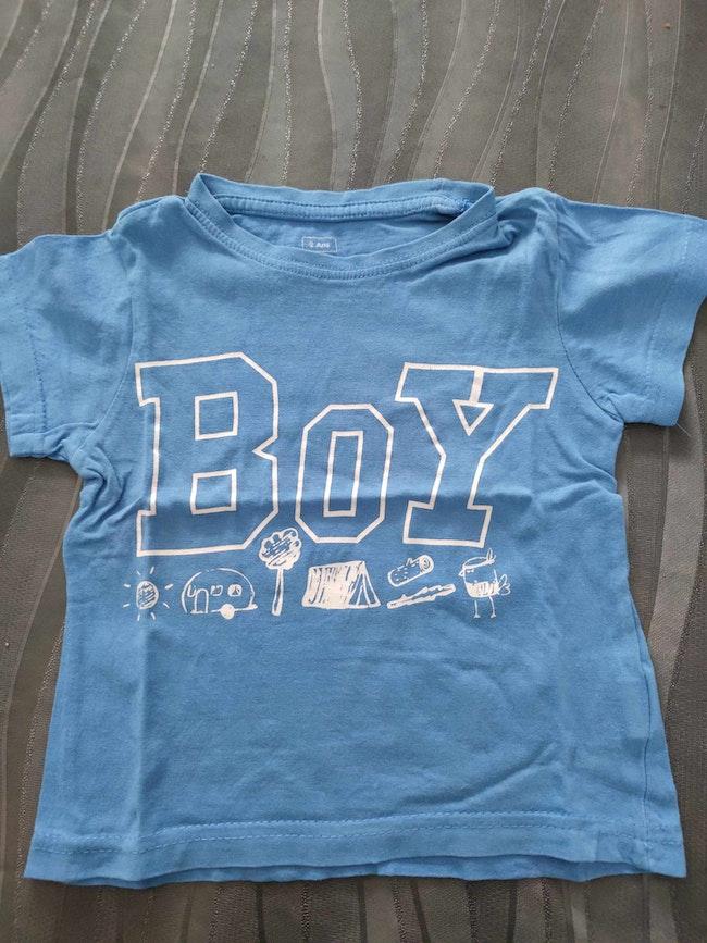 Tee shirt boy 2 ans