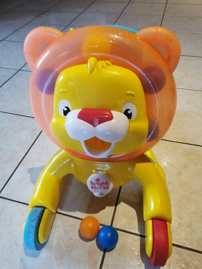 Trotteur Lion Bright Starts
