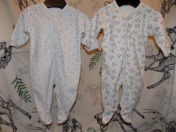 2 Pyjamas velours