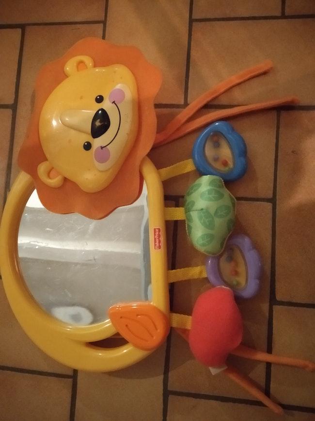 Miroir lion Fisher Price