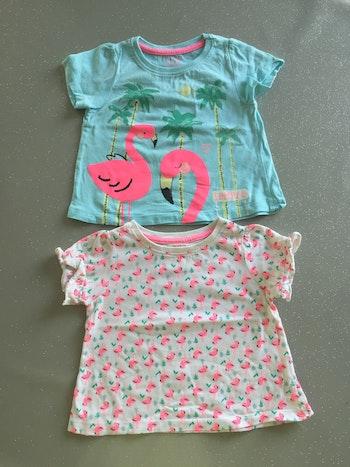 T-shirt été flamands roses 9M