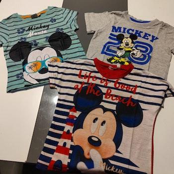 Lot de 3 tee shirt Mickey 3 ans